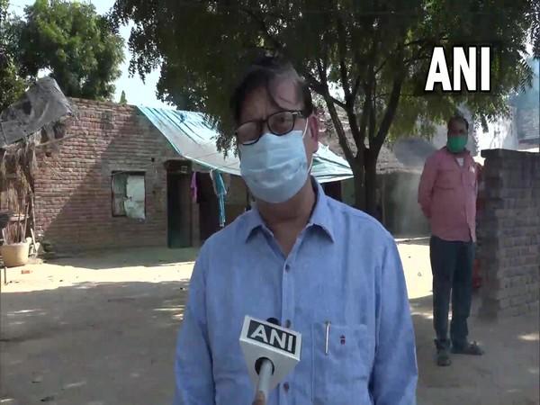 Chief Medical Officer, Dr Arun Kumar Srivastava (Photo:ANI)