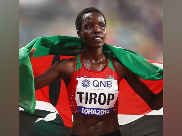 Agnes Tirop (Photo/ World Athletics Twitter)