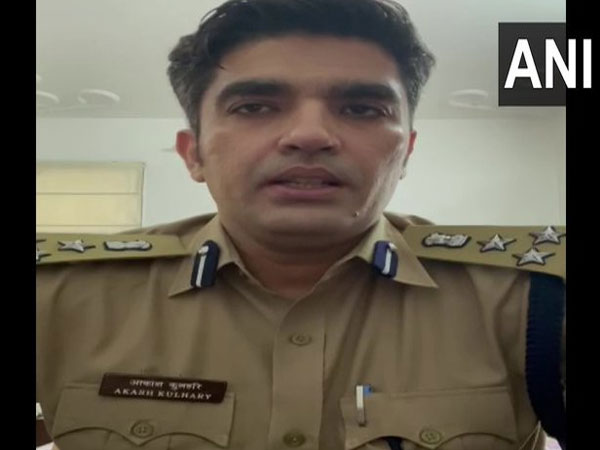 Joint Police Commissioner of Kanpur, Akash Kulhary (Photo/ANI)