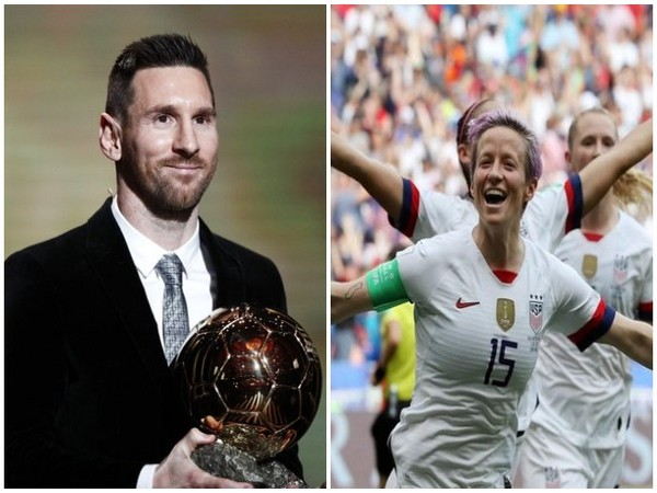 Lionel Messi, Megan Rapinoe win Ballon d'Or 2019 awards