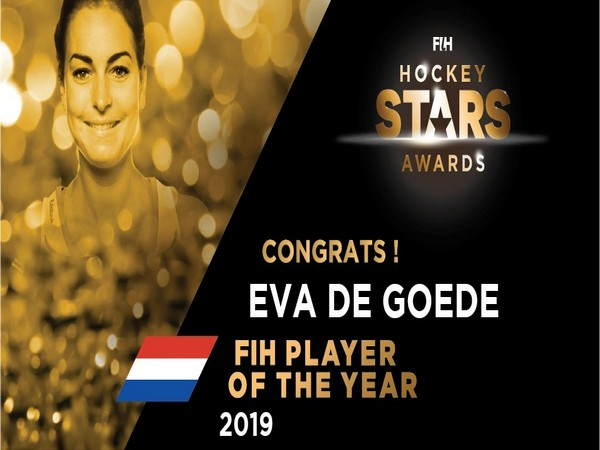 Eva de Goede named 2019 FIH Women's Player of the Year