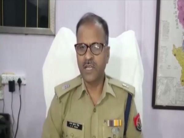 ASP Arun Kumar Singh speaking to ANI in Rampur on Saturday. Photo/ANI