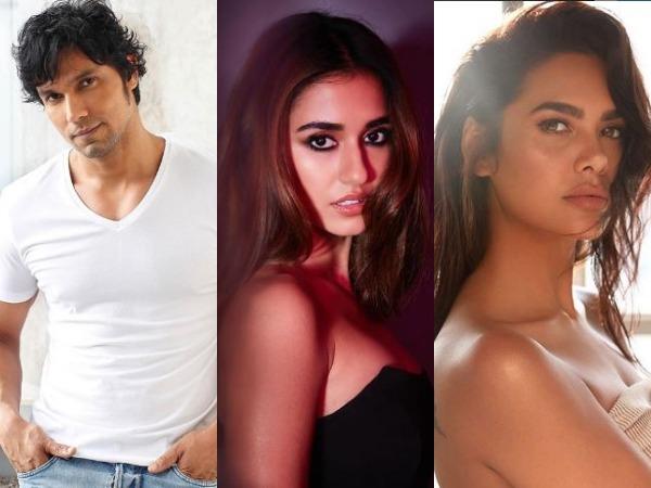 Randeep Hooda, Disha Patani, Esha Gupta  (Image courtesy: Instagram)