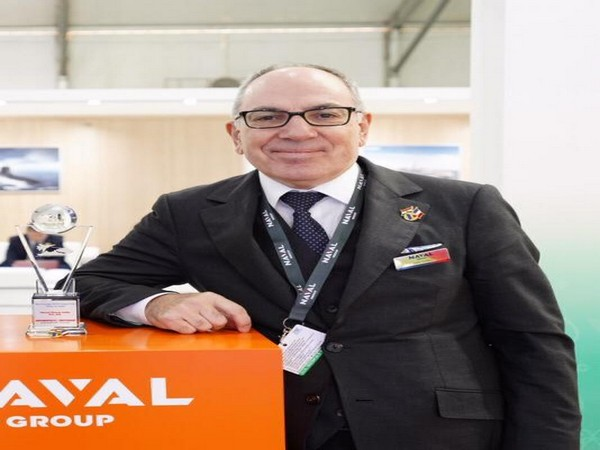 French firm Naval Group's Executive Vice President Alain Guillou.
