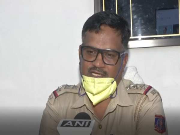 Suhaib Farooqui, Station House Officer of New Delhi's South Avenue Police Station, speaking to ANI on Saturday. Photo/ANI