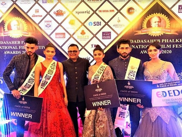 Winners of Face Of India Season 6 with Badal Saboo