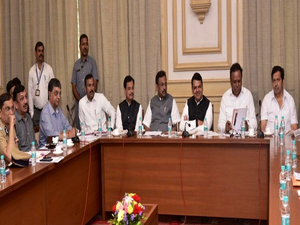 Chief Minister Devendra Fadnavis during a meeting on Wednesday