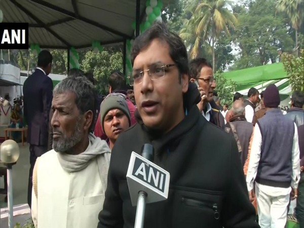 RJD MLA from Keoti constituency, Faraz Fathmi speaking to ANI on Wednesday. Photo/ANI