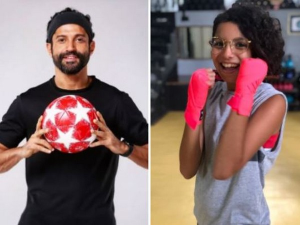 Farhan Akhtar with daughter Akira (Image courtesy: Instagram)