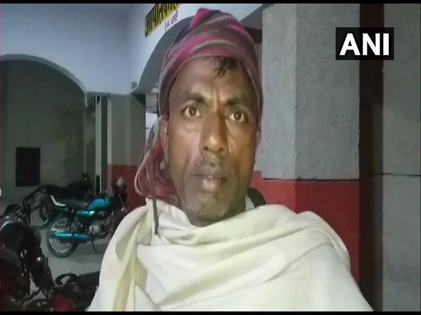 The father of a minor girl whose body was allegedly left unattended for over one hour. [Photo/ANI]