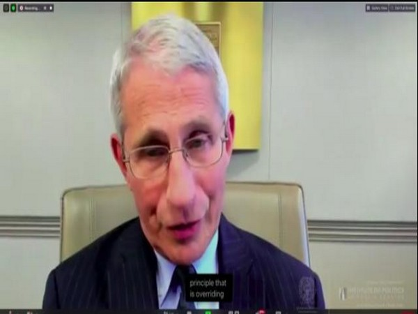 US top infectious disease specialist, Anthony Fauci (Photo/ANI)
