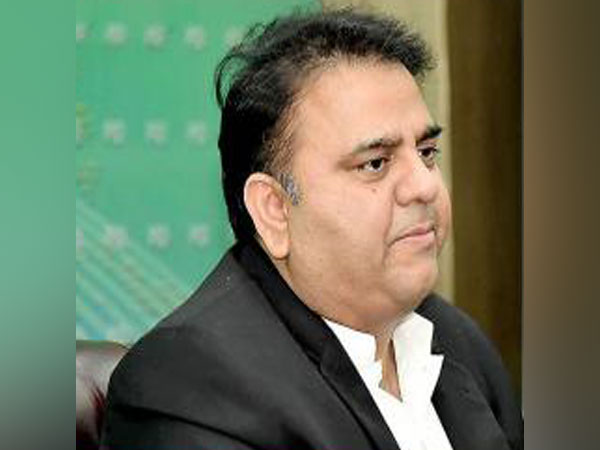 Pakistan's Information and Broadcasting Minister Chaudhary Fawad Hussain