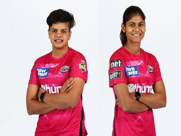 Shafali Verma and Radha Yadav (Photo/ cricketcomau Twitter)