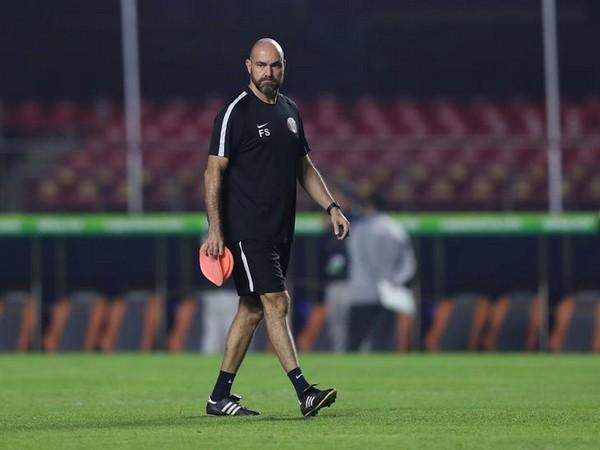 Qatar's coach Felix Sanchez