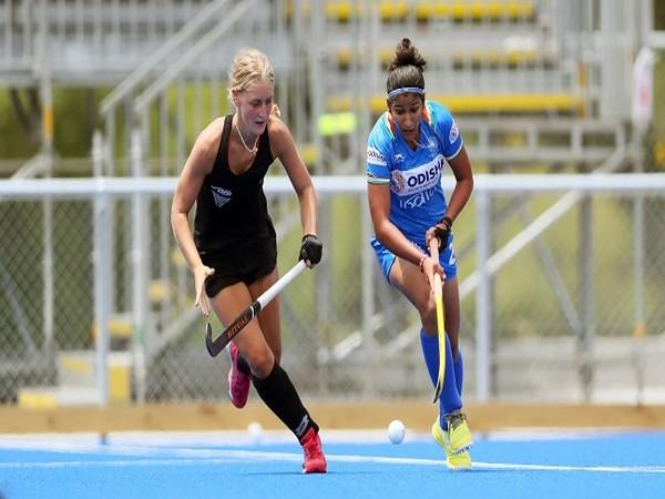 Indian women's hockey forward Navneet Kaur (Image: Hockey India)