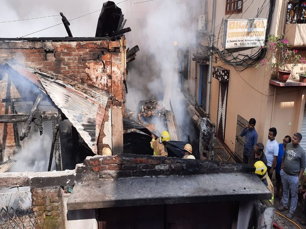 A massive fire had broken out at a toy godown in Siliguri on Wednesday.