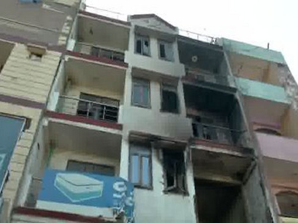 Two children died after fire broke out in Delhi's four-storey building
