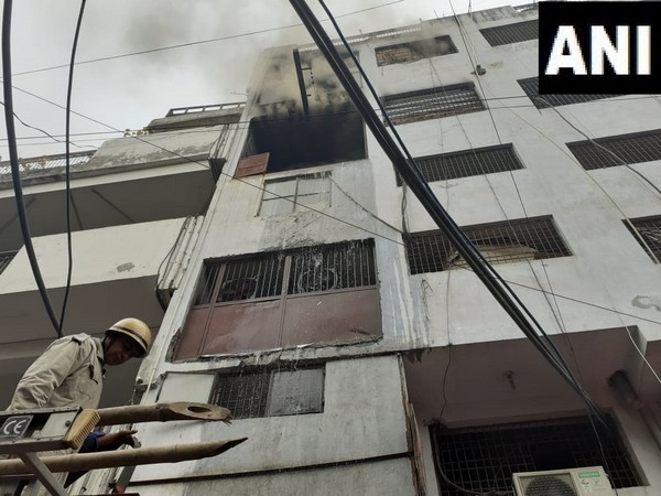 A fire broke out at a factory manufacturing unit in Lawrence Road in Delhi on Tuesday.
