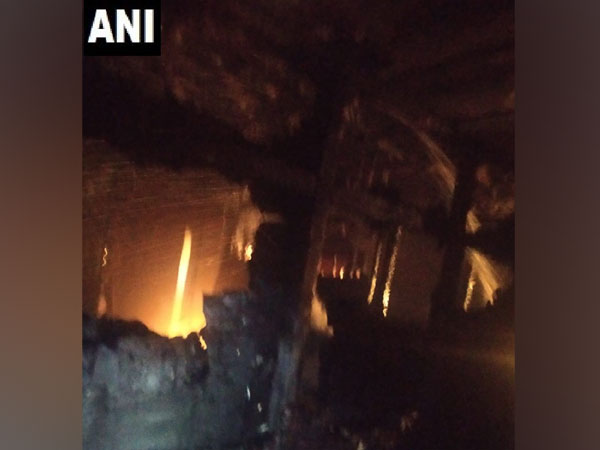 Visuals from NDMC building in CP. Photo/ANI