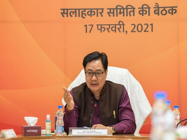 Minister of Youth Affairs and Sports Kiren Rijiju (Photo/ Fit India Movement Twitter)
