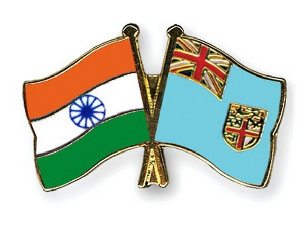 India and Fiji flags