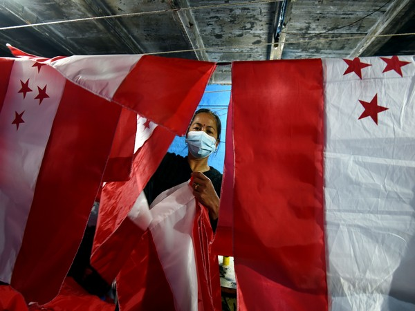 Flag making business on the rise as anti- government demonstration peaks in Nepal