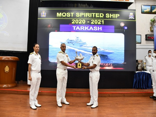 Fleet Awards Ceremony 2021 held in Mumbai to celebrate the contribution of Western Naval Command (File Photo/ANI)
