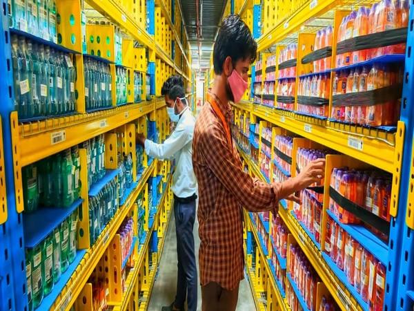 Flipkart employees working at a new Haryana fulfilment centre