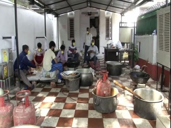 Home Kitchen run by AAP leader Sanjay Singh's wife Anita Singh. Photo/ANI