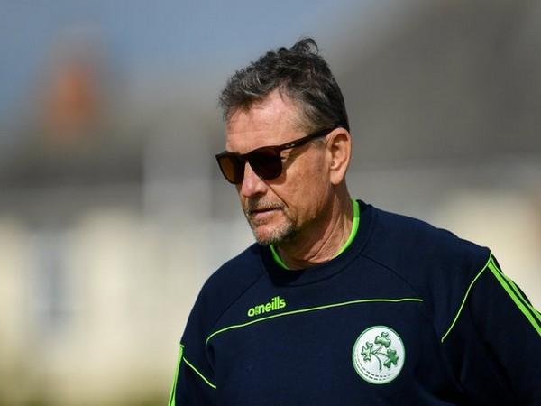 Ireland head coach Graham Ford (Photo/Cricket Ireland Twitter)