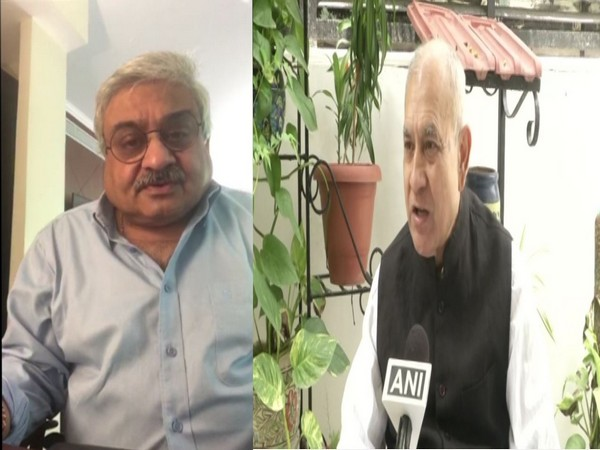 Foreign Affairs Expert Anil Wadhwa (left) and Defence Expert SP Sinha (right)
