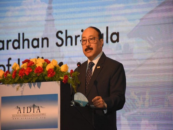 Foreign Secretary Harsh Vardhan Shringla (Source: Twitter)