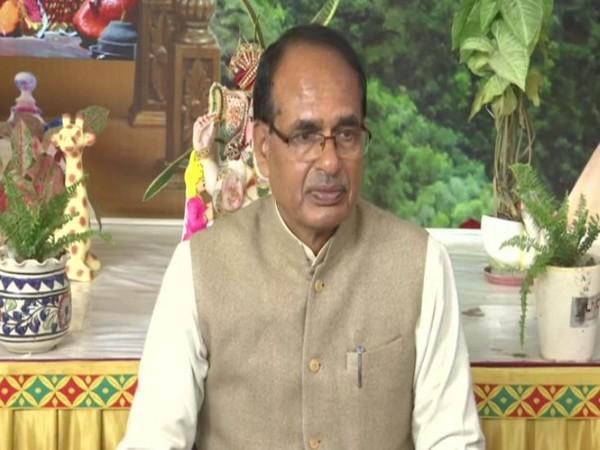 BJP leader Shivraj Singh Chouhan speaking to reporters in Bhopal on Saturday. (Photo/ANI)