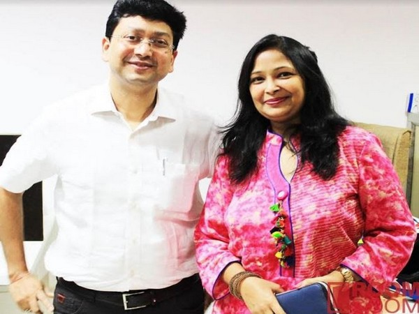 Founders Nitin Agarwal and Garima Agarwal.