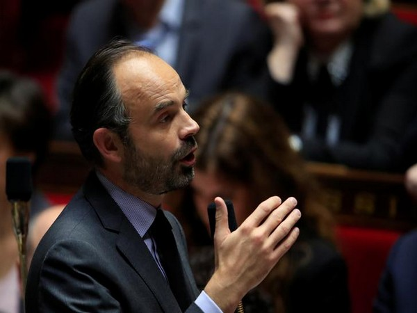 Prime Minister Edouard Philippe attending a conference at the National Assembly in Paris