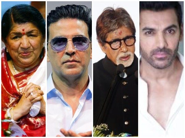B-town celebs on Friday paid tribute to the brave hearts who lost their lives in the line of duty in Pulwama terror attack.