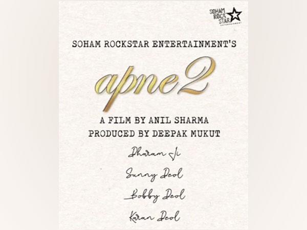 First look of 'Apne 2,' (Image Source: Instagram)