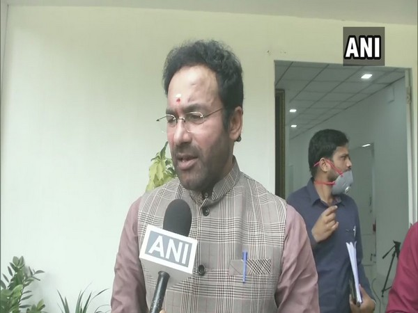 MoS Home Affairs G Kishan Reddy (File photo)