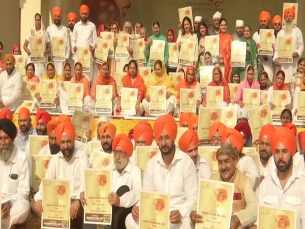 A special event was organised by The Hermitage Rehab on the occasion of Guru Nanak Dev's 550th birth anniversary on Sunday in Amritsar.