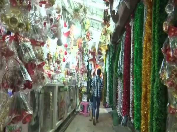 Festive spirit ahead of Christmas in Goa. Photo/ANI