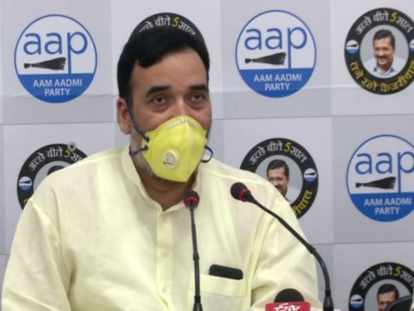 Gopal Rai, Labour and Employment Minister of Delhi (File Photo)