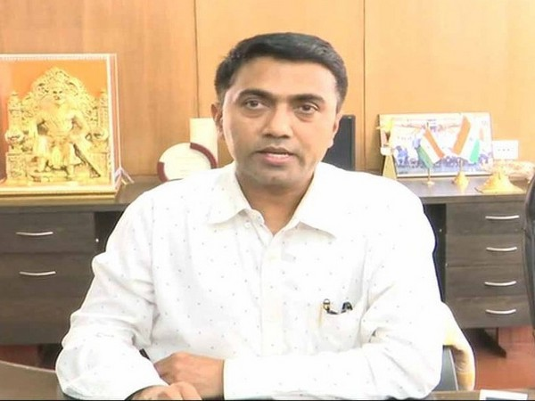 Goa Chief Minister Pramod Sawant. File photo/ANI