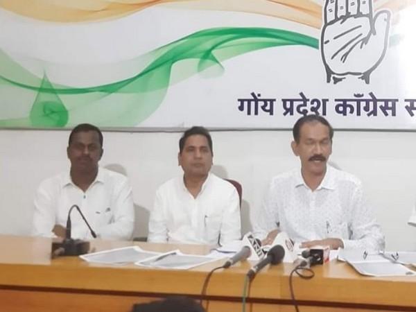 GPCC spokesperson Vithu Morajkar (middle)