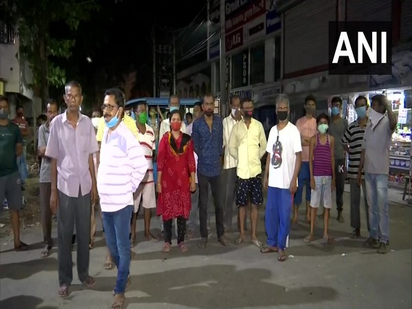 Locals of Raiganj's Indira Colony protests against conversion of COVID-19 ward into polling booth