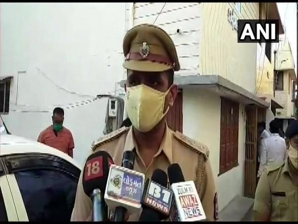 Superintendent of Police of Vadodara Police, Bharat Rathod (Photo/ANI)