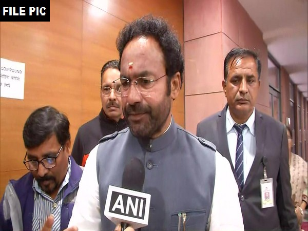 Minister of State for Home Affairs (MoS) G Kishan Reddy (File photo)