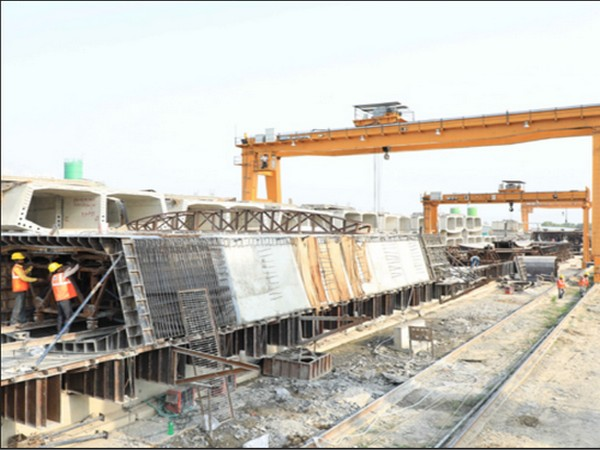 The company recently diversified into projects in the railway sector