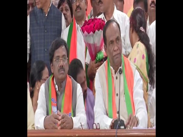 BJP leader G Vivekananda
