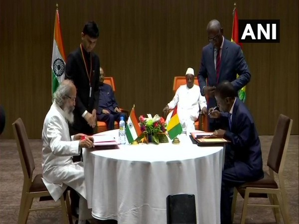 India and Guinea signed three MoUs on Friday in the presence of President Ram Nath Kovind and his Guinean counterpart Alpha Conde