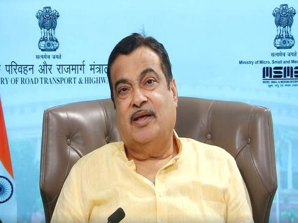Union Minister Nitin Gadkari during foundation stone laying ceremony of Maritime Cluster at  Verna Industrial Estate, Salcete Goa on Sunday. Photo/ANI